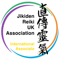 Jikiden Reiki UK International Associate Logo